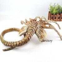 Alien Vs. Predator Alien Facehugger Figure Face Hugger Poseable Replica Alien Doll Figure Halloween Gift Decoration Toy 120cm