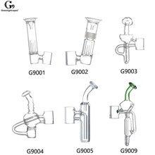 Greenlightvapes G9 bocchino vetro filtro acqua tubo gorgogliatore adattatore adattatore per 510 Nail / Henail Plus / TC Port