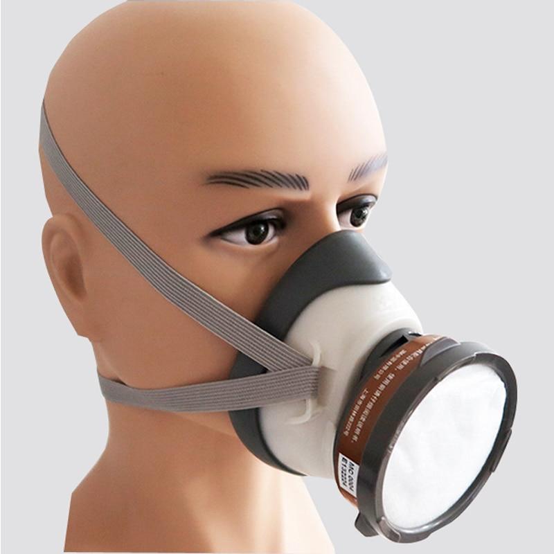 3 M 1201 Yarım yüz Toz gaz maskesi karşı Organik Gaz Maskesi - Güvenlik ve Koruma - Fotoğraf 6