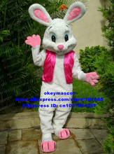 mascot NEW EASTER BUNNY MASCOT COSTUME Bugs Rabbit Hare Cartoon Character Mascotte Suit No.1769 Free Ship(China)
