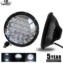 CO LIGHT 5D 7inch Led Headlights 105W LED DRL Hi/Low H4 H13 Auto Daytime Running Light for Suzuki Samurai Lada Niva 4x4 Uaz Jeep(China)