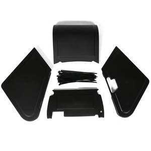 Image 4 - Motorcycle Under Seat Storage Black Body Panels For Honda Ruckus / Zoomer NPS50 Models