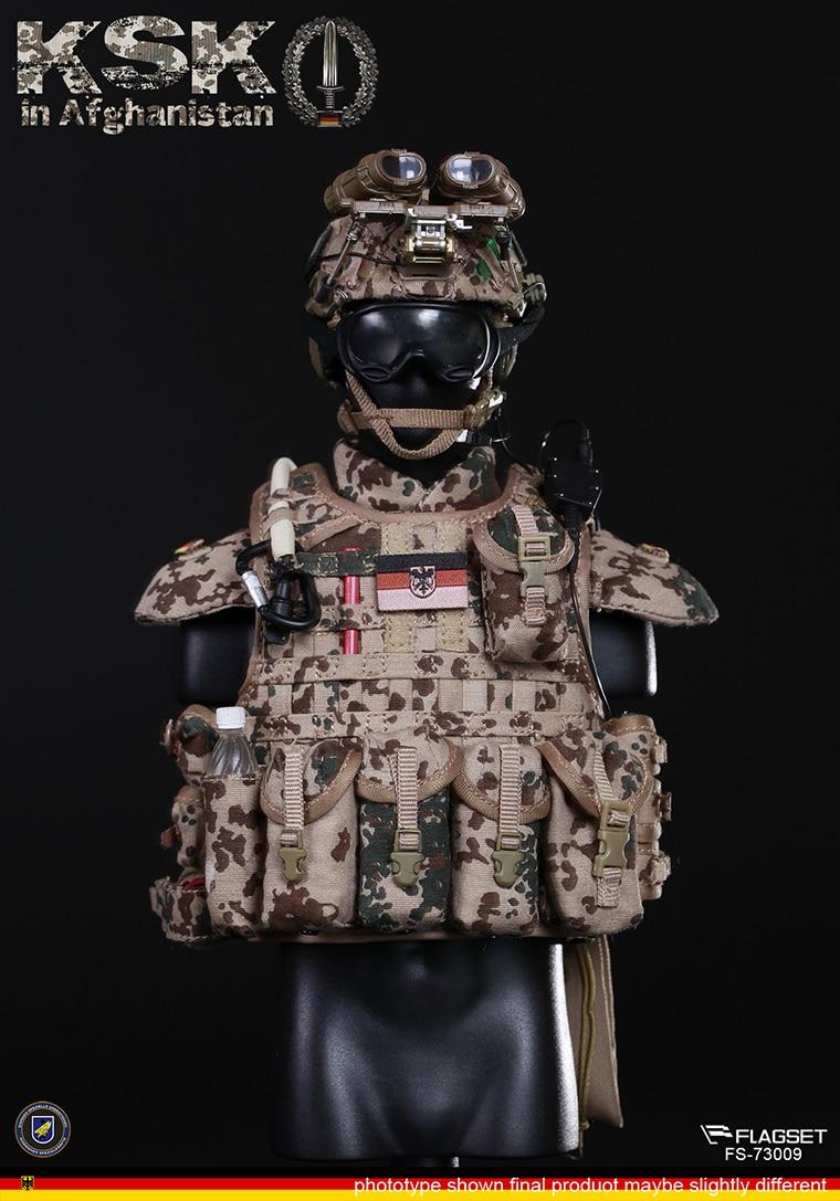 FLAGSET 1//6 Germany KSK Special Action Team In Afghanistan Assault FS-73009