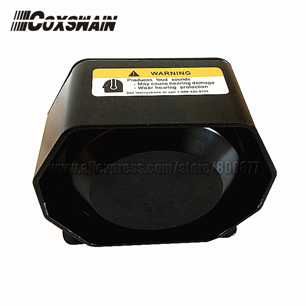 200W Extra Thin Loud Speaker For Car Siren, Neodymium Material, 120-130dB, 8ohm Horn Car Alarm Amplifier, Easy Install