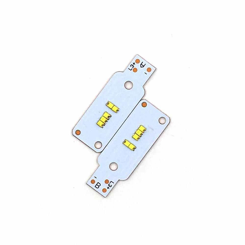 2pcs/lot X3 Car Headlight Chip LED H1 H3 H7 H11 9005 9006 9012 9004 9013 H4 25W ZES LED Beads for X3 Auto Headlamp Light Bulbs