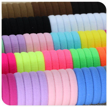 40 Pieces Elastic Hair Bands for Girls Black White Accessories 2020 For Ponytail Rubber Bands Holder Do Wlosow Isnice 3
