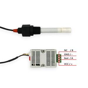Image 4 - 12 24 V di Alimentazione 485 di Acqua di Mare Trasmettitore EC TDS DEL tester DEL Sensore Modulo CE 4 20ma Modbus 485 Conducibilità EC /TDS DEL tester DEL Sensore