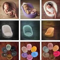 Newborn Photography Accessories Baby Mini Sofa Chair Seat Photography Props Infant Studio Shooing Posing Prop Baby DIY Album