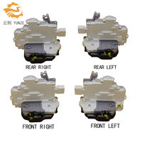 4 SIDES FRONT REAR LEFT RIGHT CENTRAL DOOR LOCK LATCH ACTUATOR MECHANISM FIT FOR AUDI A6 C6