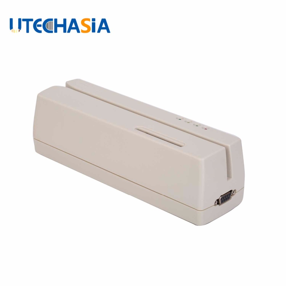 MCR200 lecteur/graveur de carte à puce à bande magnétique EMV Smart IC avec SDK pour Lo & Hi Co Track 1, 2 et 3