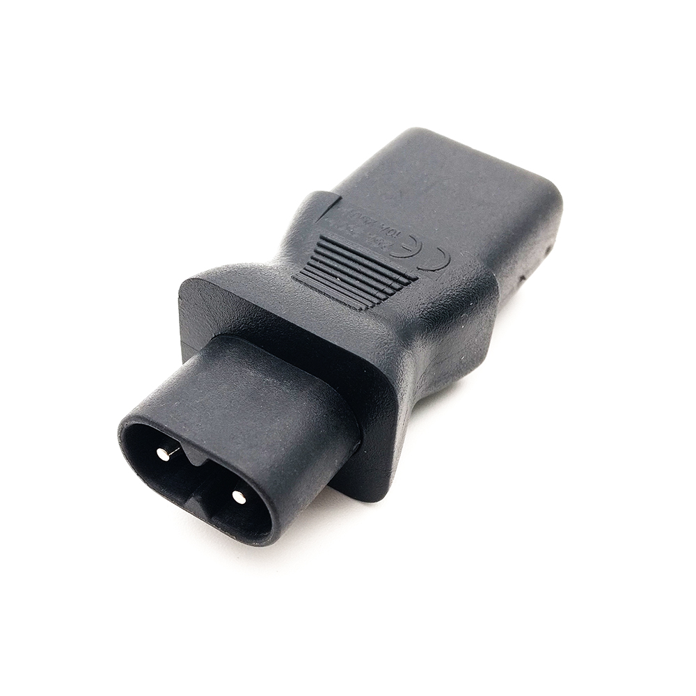 IEC 320 C7 male to C13 3Pin female power adapter, C14 to C8, C7 to C13 IEC 3Pin Female to 2Pin Male iec 320 c13 female to c14 male with10a on off switch power adapter cable fr pdu ups c14 c13 extension power cord 10pcs