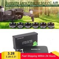 Best Price DJI Mavic Air Accessories 4K Camera Gimbal Lens Filter MCUV CPL ND Camera Protector Lens Sunhood for DJI Mavic Air