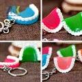 10 Unids dientes de Simulación/encías llavero regalos creativos regalo de moda pequeño negocio de hospitales y clínicas dentales