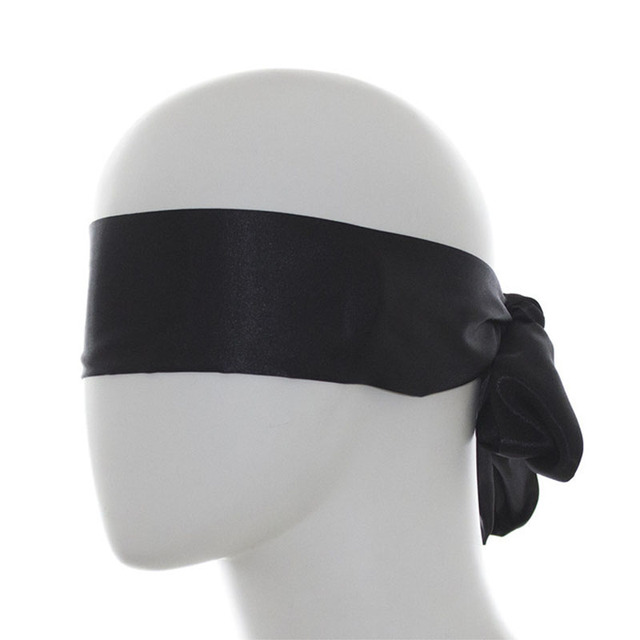 Sex Toys For Couples Erotic BDSM Bondage Eyeshade Masks Fetish Women Long Ribbon Eye Mask Adult Womanizer Game Sexo slave Shop