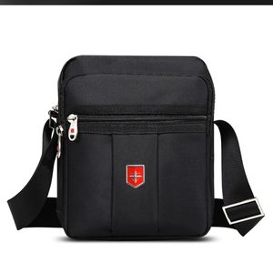 Image 1 - Swiss Brand Shoulder Bag for Men Daily Waterproof Oxford Messenger Bags Unisex Multifunctional Business Casual Briefcase bag
