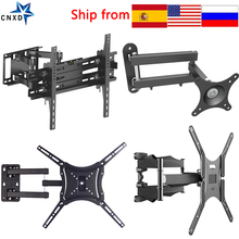 Full Motion TV Wall Mount TV Bracket for 10 70 Inch Tilt Swivel Bracket TV Stand PC Monitor Mount Bracket Rotated TV Holder