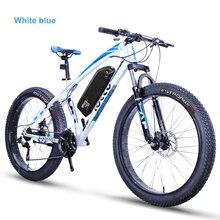26 inch electric bicycle fat tire custom electric snow ebike 48V li-ion battery 1500w MTB offroad 27 speed 5 spoke wheel ebike