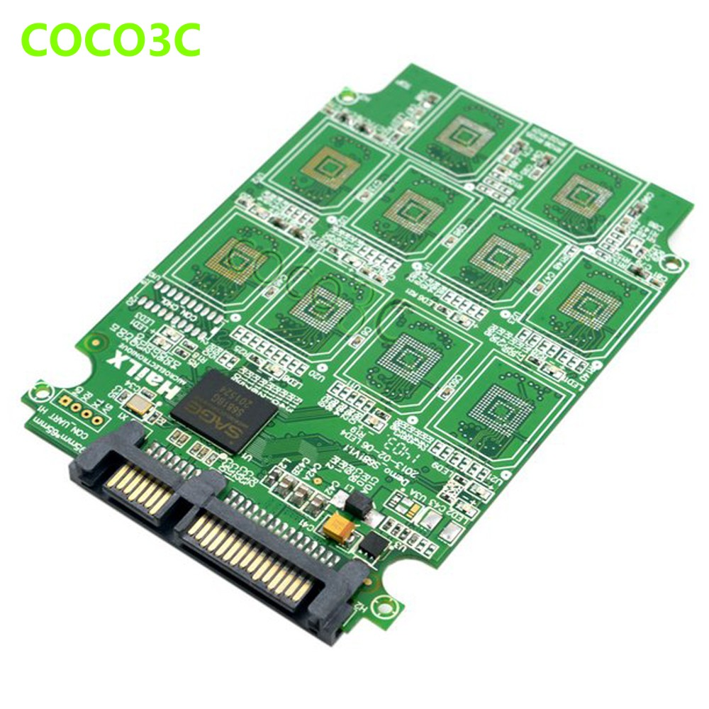 10 TF card to 2.5 inch sata 3.0 ssd adapter