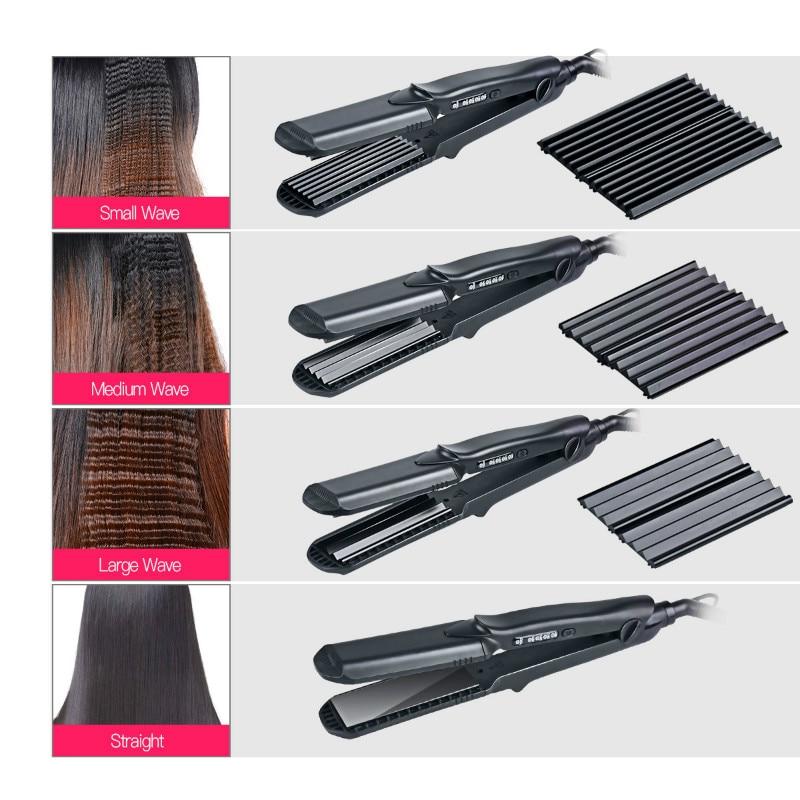 Hair Straightener and waves hair