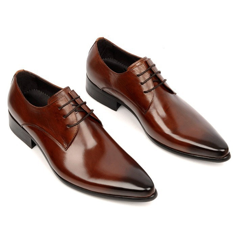 Wedding Shoes For Men In Brown 2017 | weddingdresses-online.com