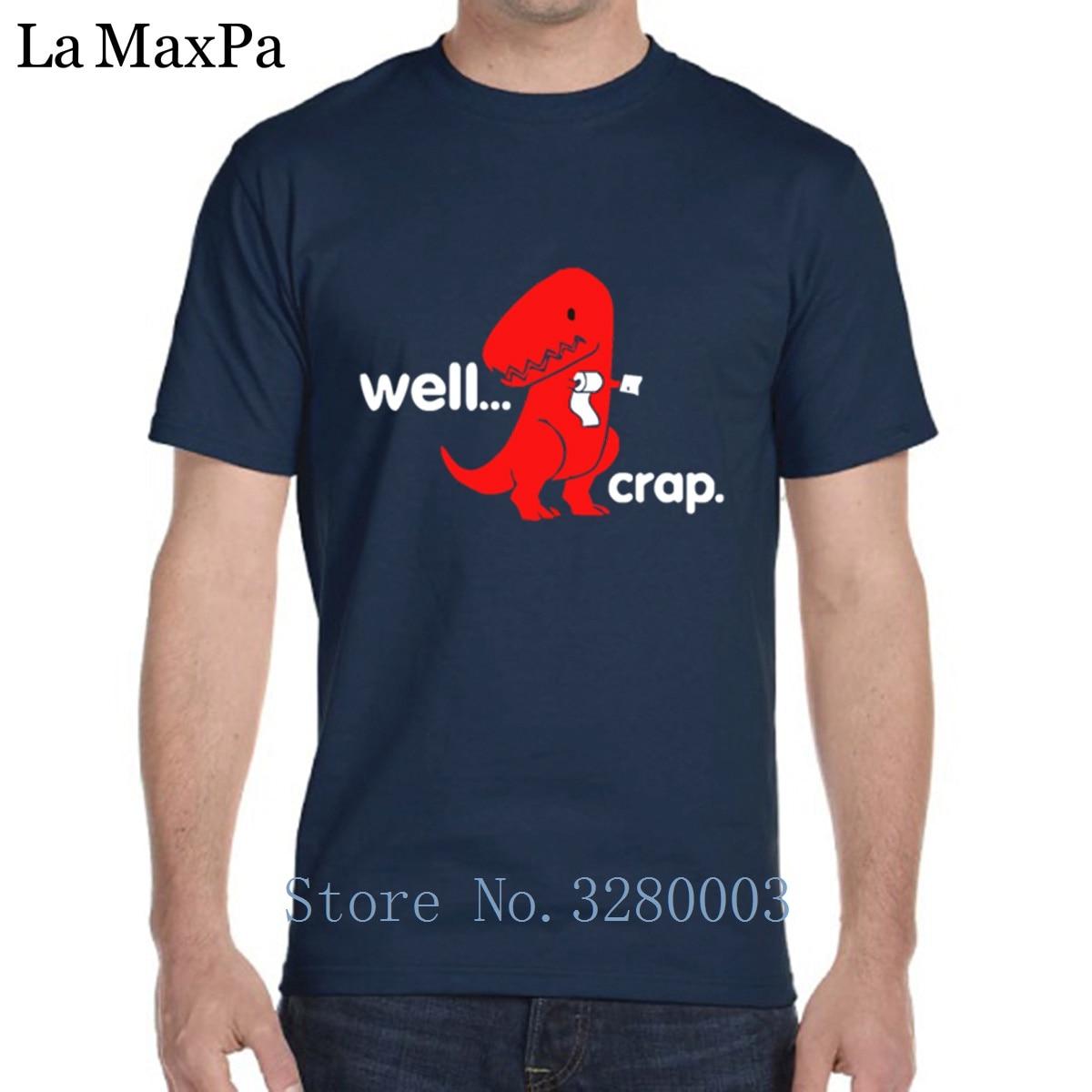 b9ce07122 Custom Basic T Shirt For Mens Dinosaur Dino Well Crap T Shirt Mens 2018 Tee  Shirt Man Trend Euro Size Interesting-in T-Shirts from Men's Clothing on ...