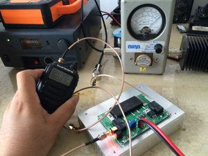 Image 4 - جهاز إرسال واستقبال لاسلكي من DYKB مزود بمضخم طاقة يعمل بالترددات اللاسلكية بقدرة 70 واط كحد أقصى لـ RA30H4047M RA60H4047M Ham VHF جهاز اتصال لاسلكي