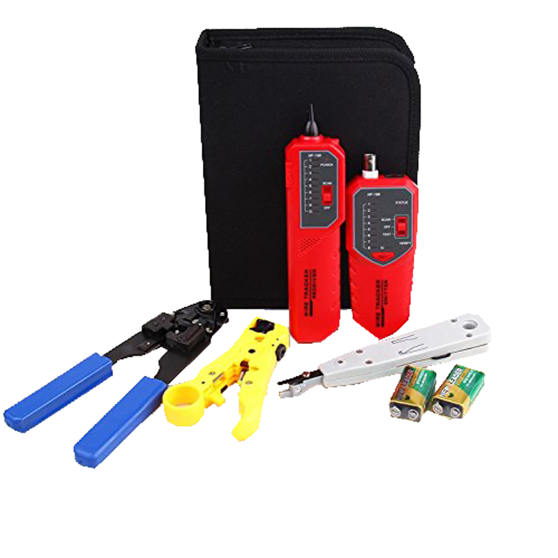 Original Tracer check-ray none noise device length tester include Wire tracker Punch Down Tool Plug Crimp Noyafa NF-1203 цена