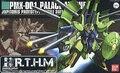 Bandai HGUC 60 PMX-001 Palace-Athene Gundam model Kits Assembled model scale model
