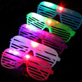 Moda 10 pcs CONDUZIU A Iluminação Do Partido Óculos Moda Neon Levou Óculos para o Natal de Aniversário Festa de Halloween Traje Bar Decoração Suprimentos
