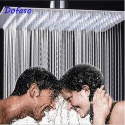 Dofaso 20 см насадка для душа высокого давления с дождевой насадкой 8