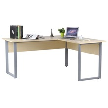 Multi-Purpose L-Shaped Computer Desk Large Work-Space Area Corner Desk Official Business Computer Table For Home Living Room