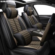 KOKOLOLEE сидений автомобиля для Dodge Все Модель калибра Путешествие ОЗУ aittitude caravan Тюнинг автомобилей чехлов сидений автомобилей