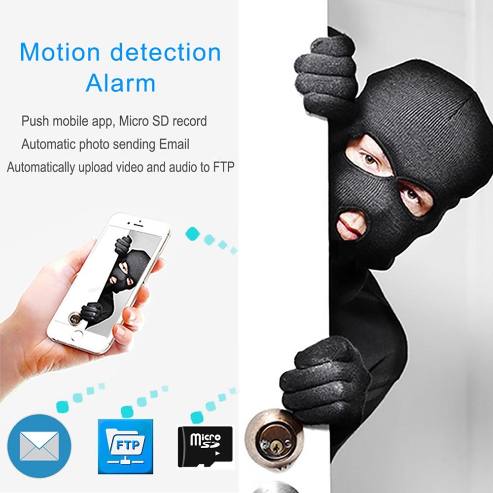 IP Camera Wifi 1080P HD Security Outdoor Waterproof Night Vision Audio Wireless CCTV Surveillance 2.0MP Ipcam P2P Home Camera