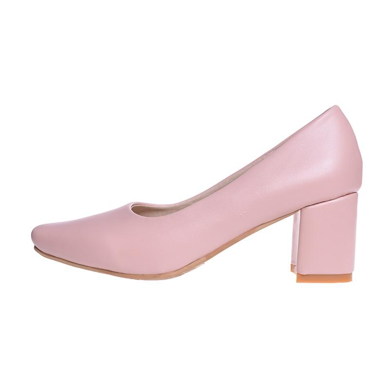 fde31c483b HEE grandes das Mulheres Do Vintage Bombas Moda Dedo Do Pé Quadrado Sapatos  Med Calcanhar Grosso Fivela Sapatos Fechados para o Trabalho Das Senhoras  WXG427 ...