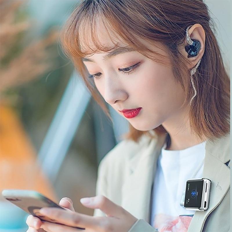 Fiio m5 hi res bluetooth alta fidelidade música portátil mp3 player usb dac baseado android com aptx hd, fiio opcional sk m5a watchtrap para m5 - 5