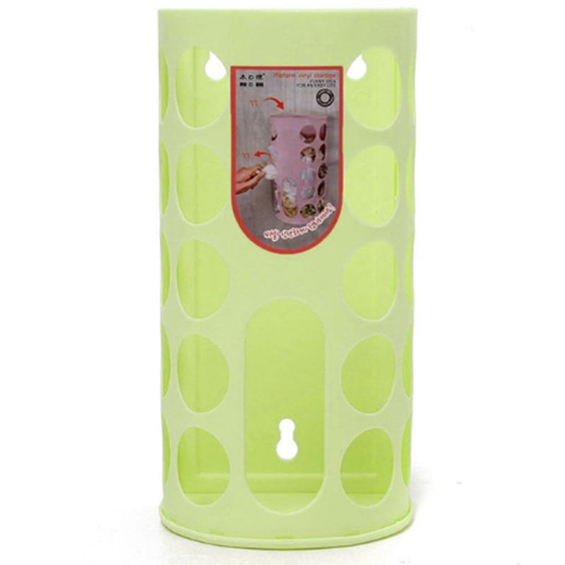 Домашняя корзина для хранения, пластиковая сумка-переноска, хозяйственная сумка для хранения, сумка для хранения, Диспенсер, может быть соединен - Цвет: green
