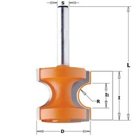 CMT 954.509.11 Morango semicircular HM S 12 Diam 44.5 R 12.7|Acessórios para ferramenta elétrica| |  -