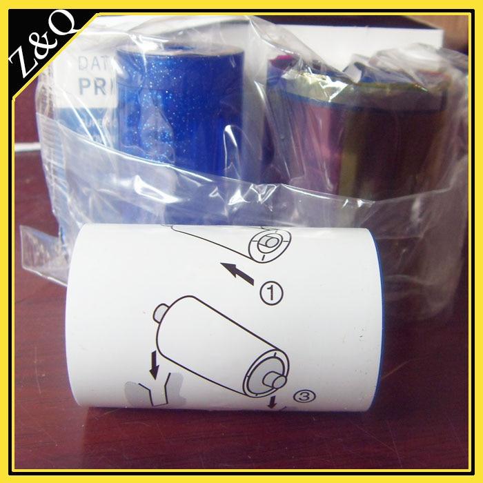 Datacard 534000-002 Zestaw kolorowych wstążek i czyszczenia - YMCKT - Elektronika biurowa - Zdjęcie 2