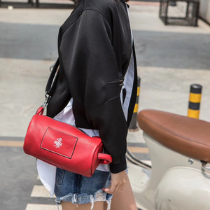Image 5 - Orabird Small Women Bucket Bag Soft Genuine Leather Ladies Casual Sling Shoulder Crossbody Handbag Fashion Phone City Gray Bags