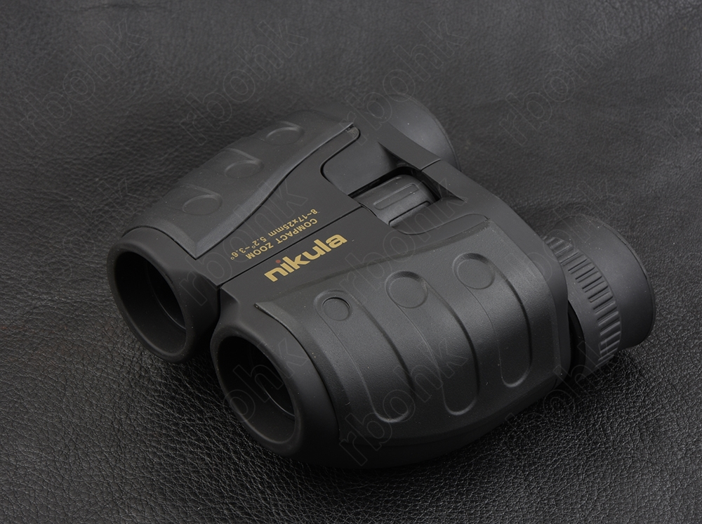 Nikula 8-17x25 zoom binoculars waterproof Telescope Paul prism hunting shooting outdoor golf M nikula 8x42 high definition waterproof binoculars telescope bak4 prism multilayer broadband coating glass m7078