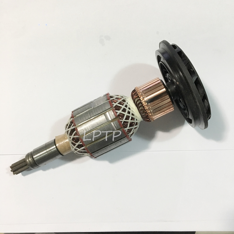 Good quality hammer armature rotor replacement for BOSCH GSH10C gsh 10c rotory hammer motor 7teeth power tool accessories