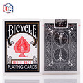 Bicycle Poker Black Rider Back Deck Playing Cards Poker Classic Magic Props Black classic style single license plate