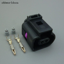 Shhworldsea 2/5/30/100 комплекты 2pin клапан стравливания давления разъем, природный газ разъем 13602619/1J0 973 702 1J0973702 для vw