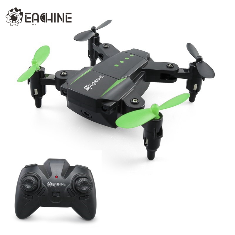 Eachine E59 Mini 2.4G 4CH 6 Axis Foldable Arm Headless Mode RC Drone Quadcopter RTF VS E010 JJRC H345 H37 Christmas Toys Gift wltoys q222 quadrocopter 2 4g 4ch 6 axis 3d headless mode aircraft drone radio control helicopter rc dron vs x5sw