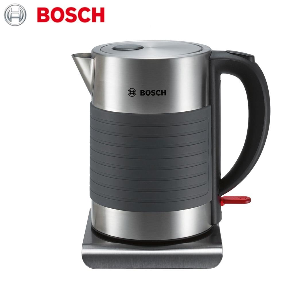 лучшая цена Electric Kettles Bosch TWK7S05 home kitchen appliances kettle make tea