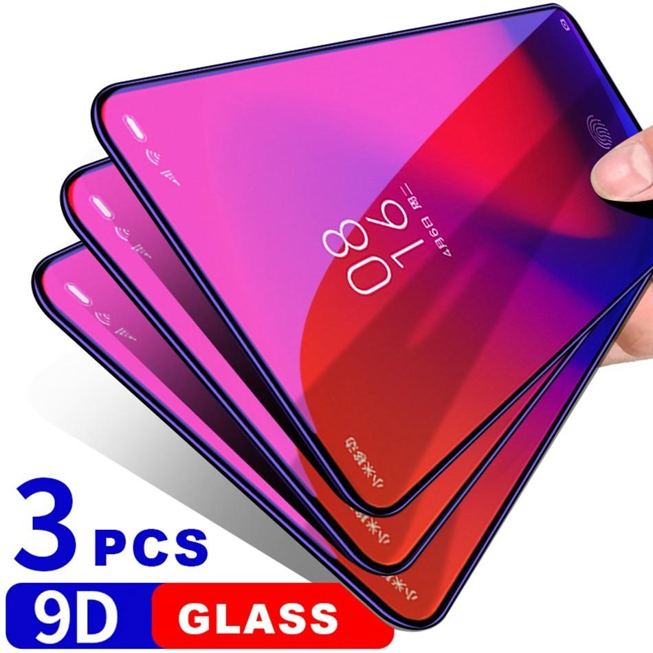 9D Tempered Glass for Xiaomi mi 9 SE 9T Pro CC9 CC9e Glass Screen Protector Xiomi Redmi Note 7 K20 Note 6 Pro Protective Glass(China)