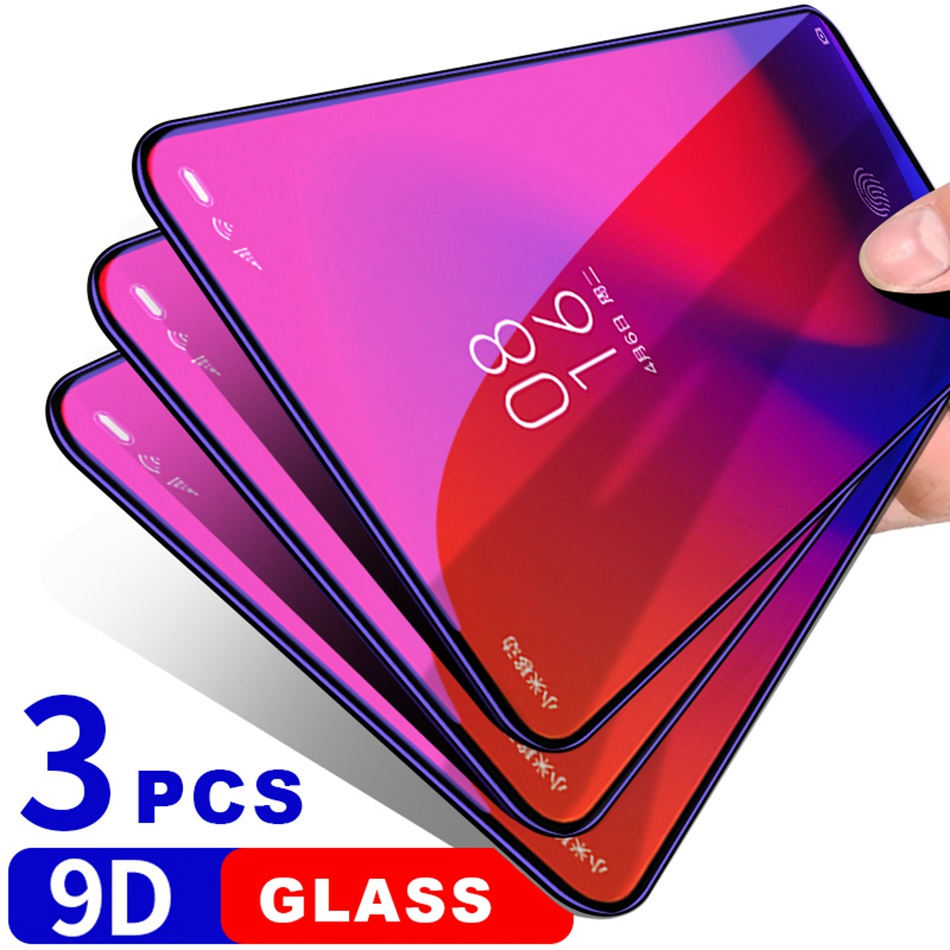 9D Tempered Glass for Xiaomi mi 9 SE 9T Pro CC9 CC9e Glass Screen Protector Xiomi Redmi Note 7 K20 Note 6 Pro Protective Glass-in Phone Screen Protectors from Cellphones & Telecommunications