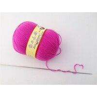 lanas 500g Baby Wool Cotton Milk Yarn for Knitting worsted Wool Crochet Yarn Skein Sweater brei en haak garen de algodon ovillos