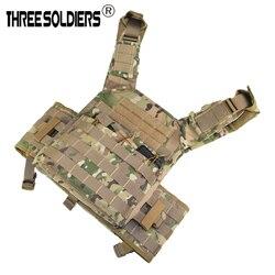 Открытый JPC Улучшенный тактический Molle жилет защитная пластина Перевозчик Мультикам боевой жилет для стрельбы Игры Жилет