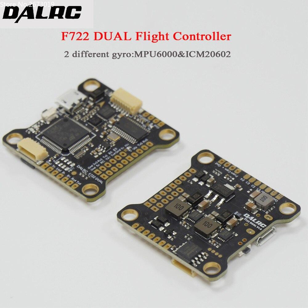 DALRC F722 DUAL STM32F722RGT6 Flight Controller Built in OSD BEC 5V 12A F7 Flight Control MCU6000